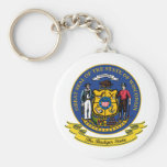Wisconsin Seal Key Chains