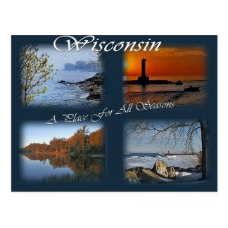 Wisconsin Seasons Postcards