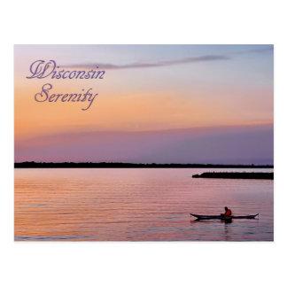 Wisconsin Serenity Postcard