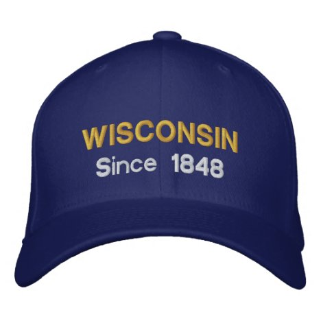 Wisconsin Since 1848 Baseball Cap