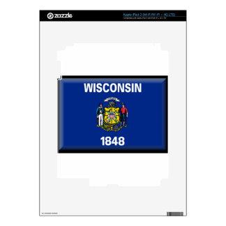 Wisconsin iPad 3 Decals