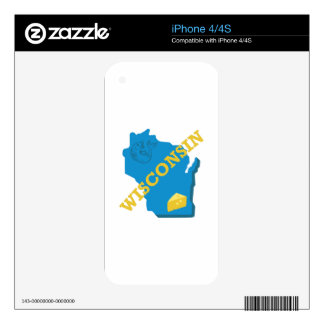 Wisconsin Skin For The iPhone 4