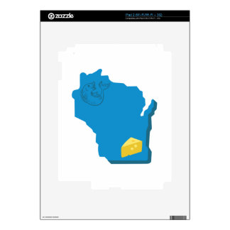 Wisconsin Skins For iPad 2