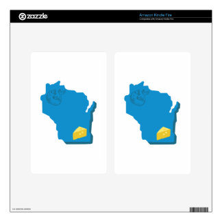 Wisconsin Skins For Kindle Fire