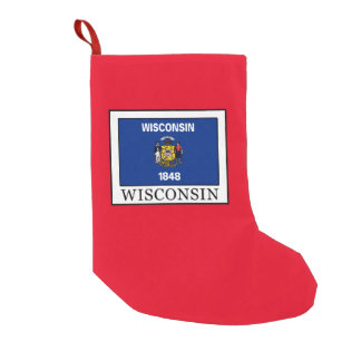 Wisconsin Small Christmas Stocking