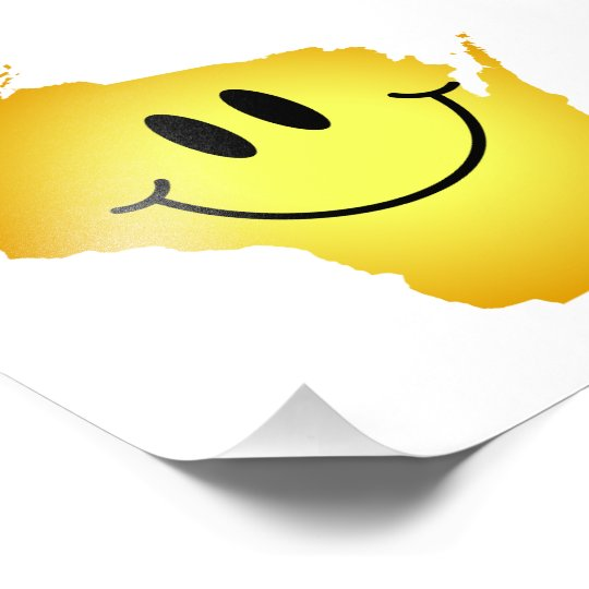 Wisconsin Smiley Face Photo Print