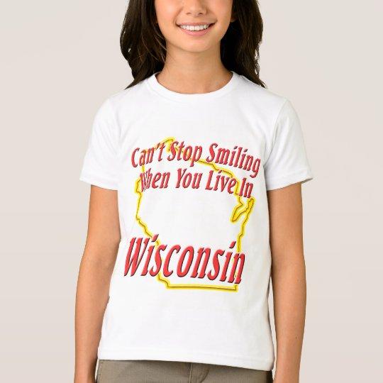 Wisconsin - Smiling T-Shirt