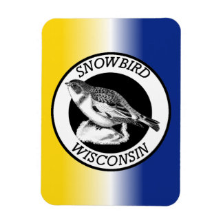 Wisconsin Snowbird Magnet