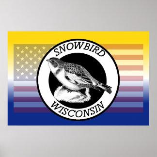 Wisconsin Snowbird Poster