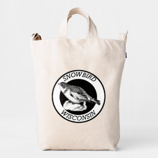 Wisconsin Snowbird Shield Duck Bag