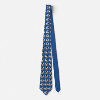 Wisconsin Snowbird Shield Tie