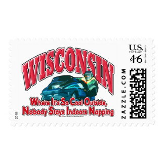 Wisconsin Snowmobile Postage