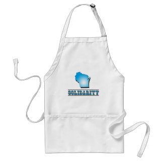 Wisconsin Solidarity Adult Apron