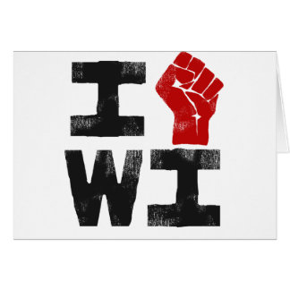 Wisconsin Solidarity Greeting Card