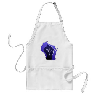 Wisconsin Solidarity Fist Adult Apron