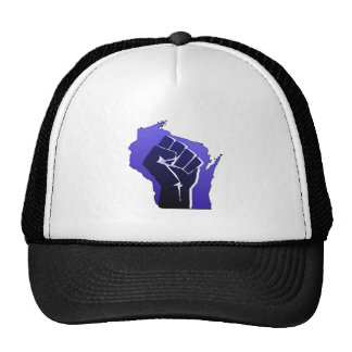 Wisconsin Solidarity Fist Hat