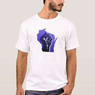 Wisconsin Solidarity Fist T-Shirt