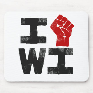 Wisconsin Solidarity Mouse Pad