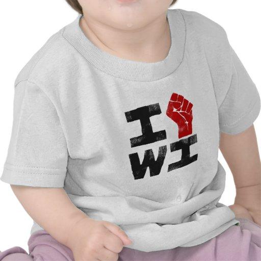 Wisconsin Solidarity T-shirts