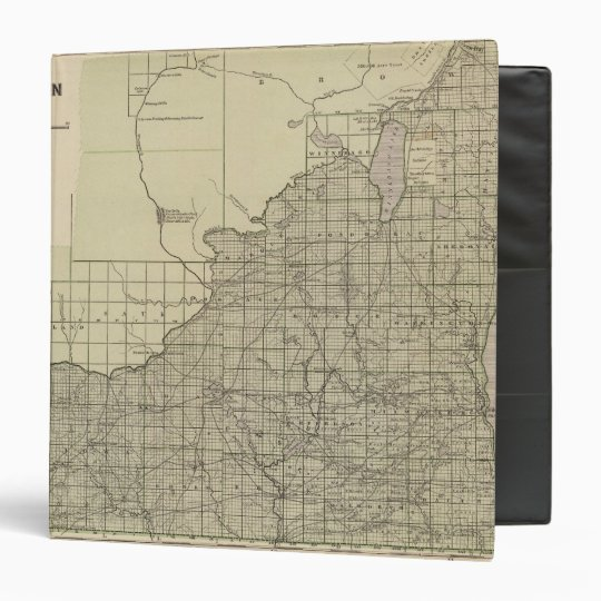 Wisconsin South part 3 Ring Binder