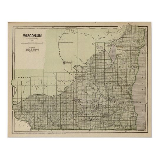Wisconsin South part Poster