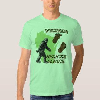 Wisconsin Squatch Watch Shirt