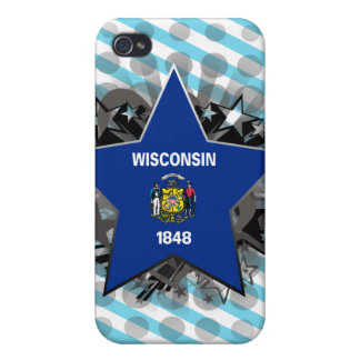 Wisconsin Star iPhone 4 Cases