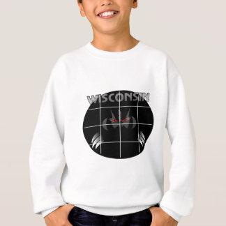 Wisconsin State Badger Design Sweatshirt