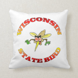 Wisconsin State Bird American MoJo Pillow