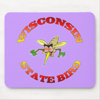 Wisconsin State Bird Mouse Pad
