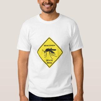 Wisconsin state Bird T Shirt