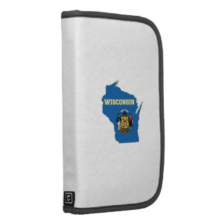 Wisconsin State Flag and Map Planner