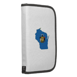 Wisconsin State Flag and Map Planners