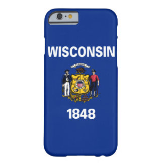 Wisconsin State Flag Barely There iPhone 6 Case
