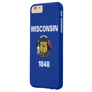 Wisconsin State Flag Barely There iPhone 6 Plus Case