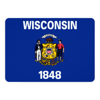 Wisconsin State Flag Design Card