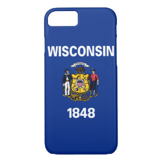Wisconsin State Flag iPhone 8/7 Case