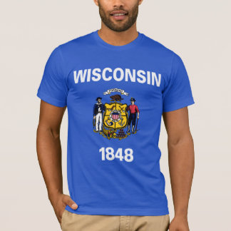Wisconsin State Flag T-Shirt