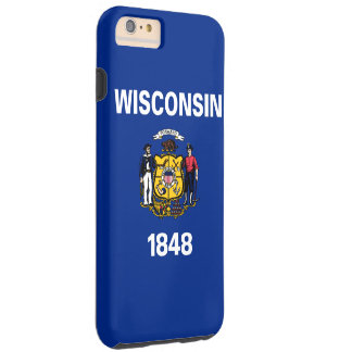 Wisconsin State Flag Tough iPhone 6 Plus Case