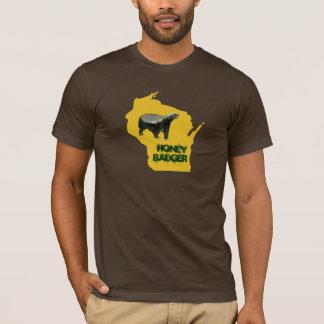 Wisconsin State Honey Badger T-Shirt