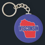 "Wisconsin State Keychain<br><div class=""desc"">Wisconsin State</div>"