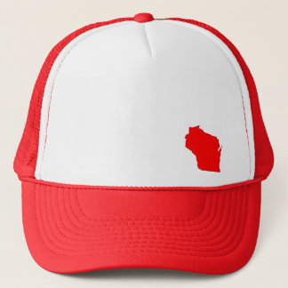 Wisconsin State Map Hat