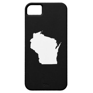 Wisconsin State Outline iPhone SE/5/5s Case