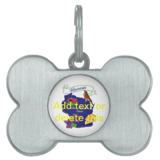 Wisconsin State Pet Tag