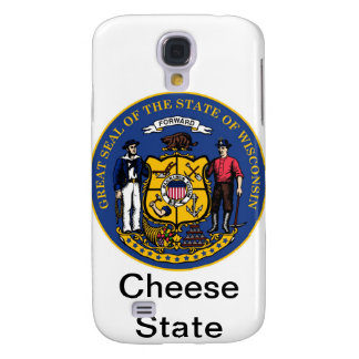 Wisconsin State Seal and Motto Samsung Galaxy S4 Cover