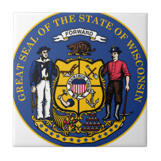 Wisconsin state seal.jpg ceramic tile
