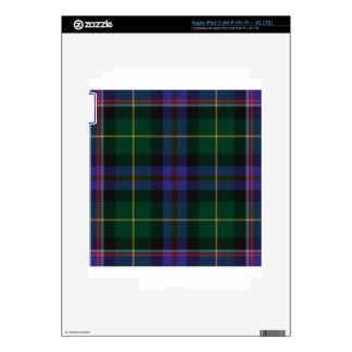 Wisconsin_state_tartan Decals For iPad 3
