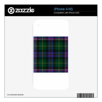 Wisconsin_state_tartan iPhone 4S Decals