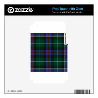 Wisconsin_state_tartan iPod Touch 4G Skins