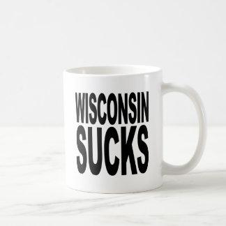 Wisconsin Sucks Coffee Mug